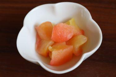 砂糖・バター不使用【レンジとトースターで簡単 焼きりんご】小さなお子さんにも◎