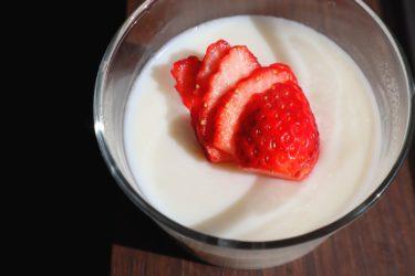 手軽に作るひんやりおやつ【ふるふる柔らかい牛乳プリン】材料3つ